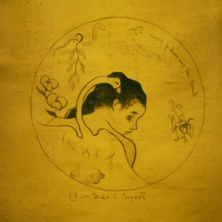 <em>Paul Gauguin: Leda</em><br>Zincography on paper · 30,5 x 30,7 cm. Titled on iron · 1889 · Cathalogued Kornfeld 7. a. b.