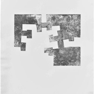 <em>Eduardo Chillida: Uste</em><br>Etching on paper · 140 x 96,5 cm. · Signed with pencil · Numerated 38/50 · 1976